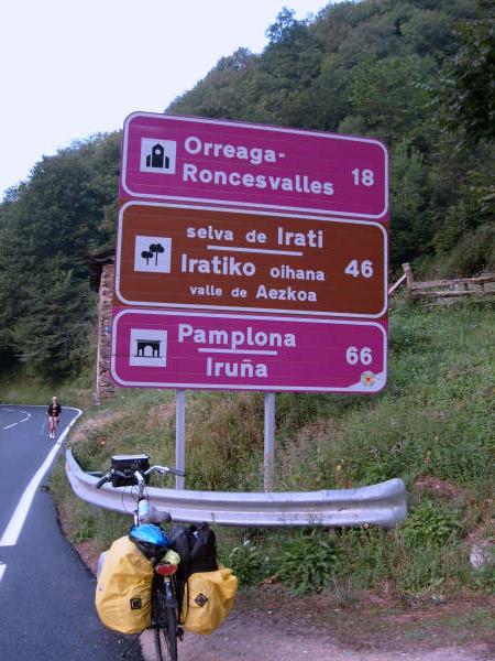 Op weg naar Ronceval...