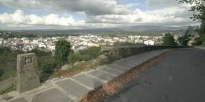 Panorama van Sarria